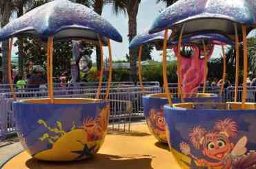 Abby's Sea Star Spin at SeaWorld San Diego