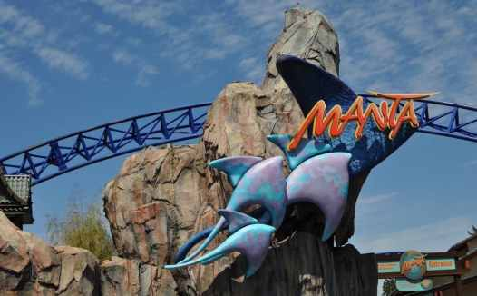 Manta at SeaWorld San Diego