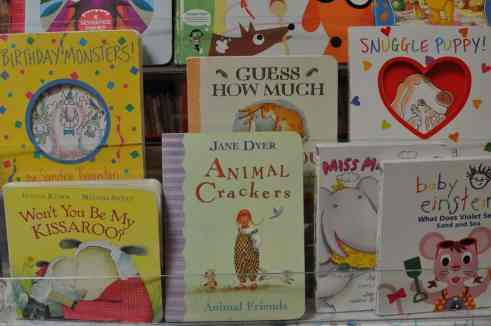 board books at Bookmans