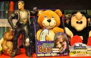 toys at Bookmans