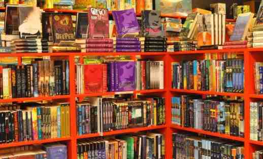 young adult fiction at Bookmans