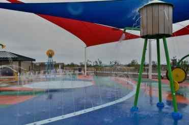 Water Windmill at Marana Splash Pad
