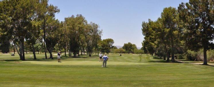 golfers at Tucson Country Club