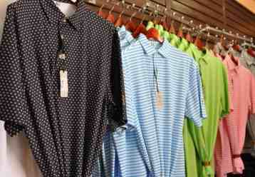 polos at Tucson Country Club gift shop