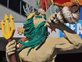 King Triton at LEGOLAND California