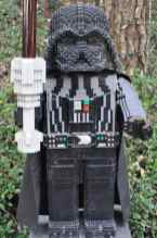 LEGO Darth Vader at LEGOLAND