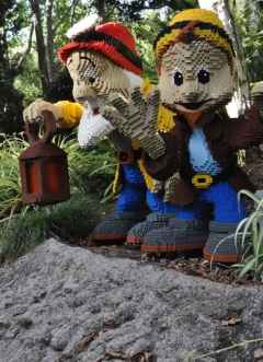 Seven Dwarves at LEGOLAND California