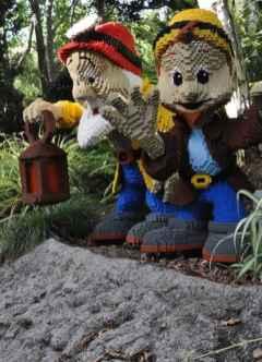 Seven Dwarves at LEGOLAND California
