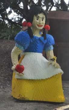 Snow White at LEGOLAND