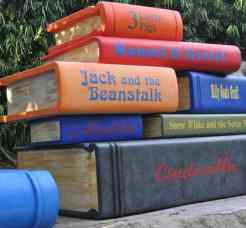 big books at LEGOLAND California