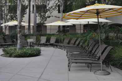 lounge chairs at Grand Pacific Palisades