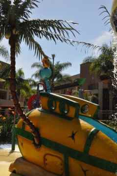 submarine slide at Grand Pacific Palisades