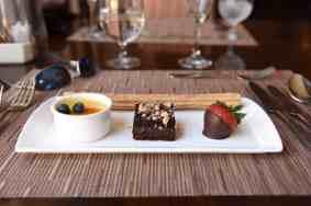 desserts at Blues Brews BBQ at Loews Ventana Canyon