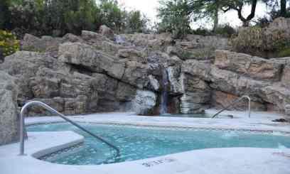 jacuzzi at Loews Ventana Canyon Resort Tucson