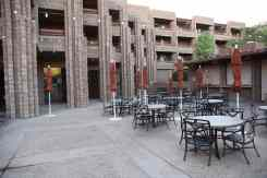 outdoor seating at Canyon Cafe at Loews Ventana Canyon Resort