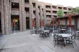 outdoor seating at Canyon Cafe at Loews Ventana Canyon Resort