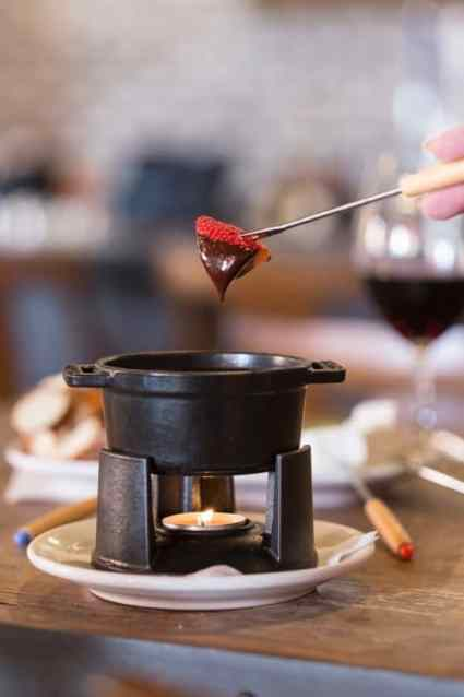 Fondue at The Living Room
