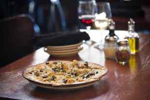 Gluten Free Artichoke Pizza at Humble Pie Tucson
