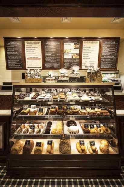 Inside Corner Bakery Cafe