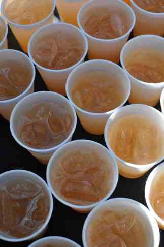 drinks at Savor Food & Wine Festival