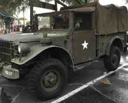 military vehicle at Museum of the Horse Soldier