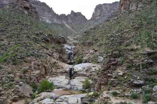 Seven Falls Sabino Canyon by Michael Eskue