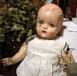 antique doll at Midtown Mercantile Merchants