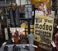cowboy vintage at Midtown Mercantile Merchants