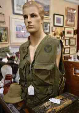 military collectibles at Midtown Mercantile Merchants