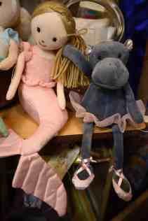stuffed toys and solls at Midtown Mercantile Merchants