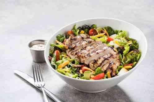 Cobb Salad at Topgolf