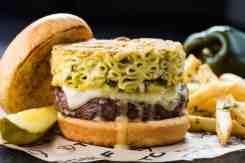MacDaddy Burger at Topgolf