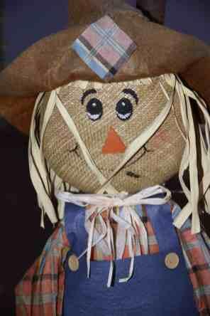 scarecrow at Marana Pumpkin Patch & Farm Festival