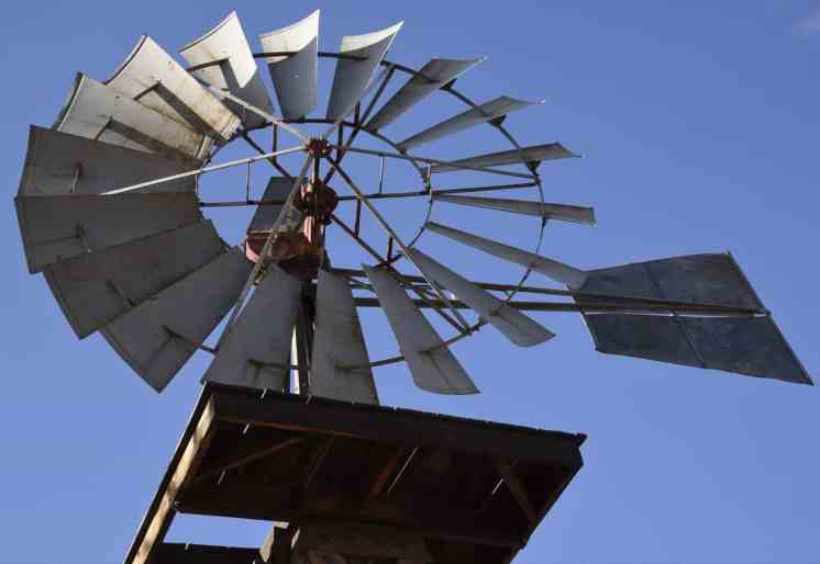 windmill at White Stallion Ranch