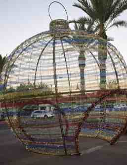 giant ornament Fairmont Scottsdale Princess