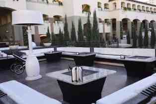 outdoor lounge seating Fairmont Scottsdale Princess