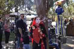 Serendipity blowing bubbles at Arizona Renaissance Festival