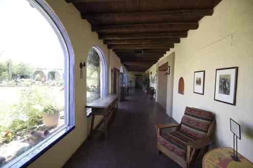 historic halls at Hacienda Del Sol