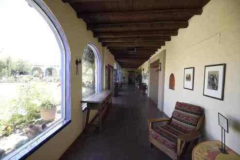 historic halls at Hacienda Del Sol