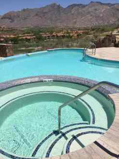 new pool at Hacienda Del Sol Guest Ranch Resort