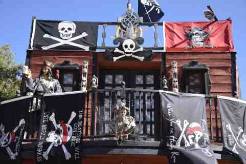 pirate ship at Arizona Renaissance Festival