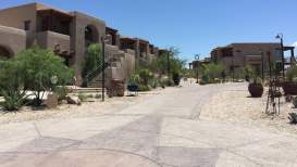 village setting at Hacienda Del Sol