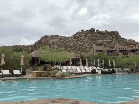 overcast four seasons scottsdale pool