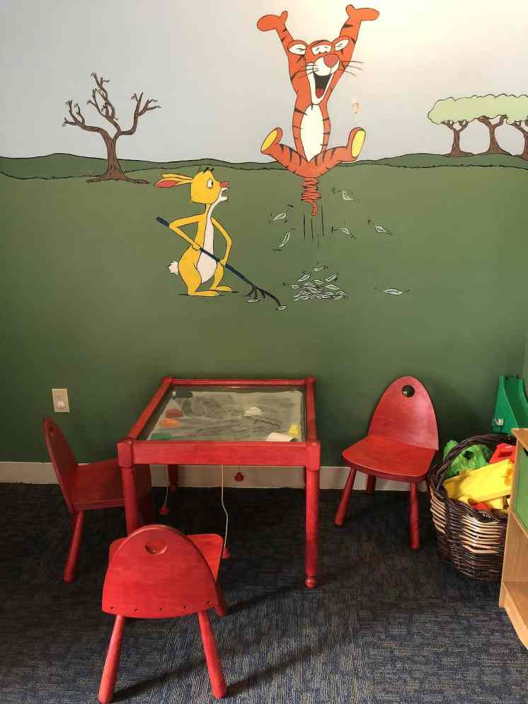 winnie pooh toddler room kids for all seasons scottsdale