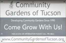 Community Gardens of Tucson Highland Vista Park