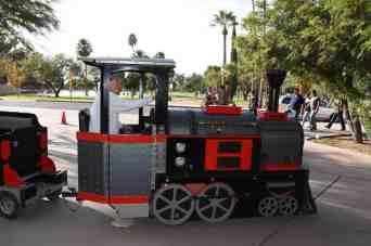 Reid Park Zoo Miniature Train Driver
