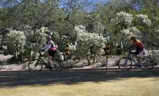 biking path Udall Park