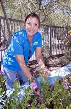gardening Tucson Parks Rec staff Udall Park