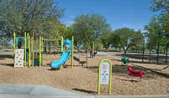 playground slides swings Udall Park