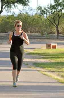 running path Udall Park